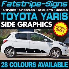 Toyota Yaris Gráficos Pegatinas Rayas Calcomanías TRD XP10 XP90 XP130 XP150 Vitz