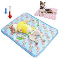 Summer Pet Cooling Mat Ice Silk Dog Nest Mat Cat Pad Non-Toxic Cool Sleeping Bed