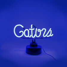 FLORIDA GATORS NEON SIGN LIGHT LAMP UNIVERSITY MAN CAVE GAME ROOM OFFICE GIFT