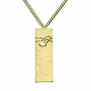 "Scottish Ola Gorie 9ct Yellow Gold 375 Aikerness Pendant 18"" Chain RRP £905"