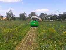 """Flail Collection Mower: Peruzzo Panther 1200, 48""""Cut, 42cu'Cap, Ground Discharge"""