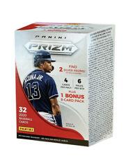 2020 Panini Prizm Baseball Factory Sealed Blaster Box Purple White Trading Cards