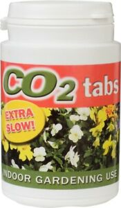 CO2 Tablets Slow Release Tub of 60 - Hydroponics Carbon Dioxide Levels Grow Room