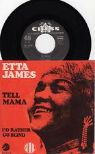 ETTA JAMES Tell Mama / I´d Rather Go Blind *RARE GERMAN CHESS VOGUE SINGLE 1968*