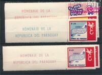 Paraguay 986-992 postfrisch 1961 Europa (8940430