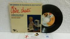 45T Générique Emission TV Claire Chante Saintout Loussier Radio France Barclay