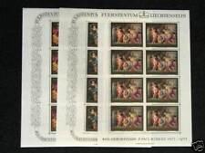 3  blocs de 8 timbres P RUBENS 596 à 598  AN 1976  neuf