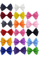Boys Kids Childrens Adjustable Satin Pre Formed Wedding Party Bow Ties