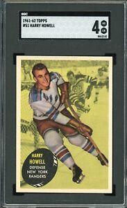 1961-62 Topps #51 Harry Howell HOF SGC 4 !!!