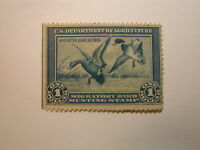 U.S. Stamp Scott #RW1 US Department of Agriculture $1 Migratory Bird Hunting ...