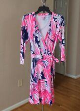Lilly Pulitzer Emilia Wrap Dress Size XS