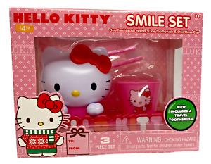 Amazing Smile Tooth Brush Set - Choice - Batman - Hello Kitty