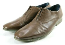 Ted Baker Men's $220 Dress Shoes Size 10 Leather Brown