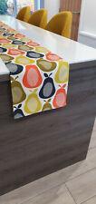 Orla Kiely Scribble Pear Designer Table Runner 200cm-240cm-280cm Table Cover