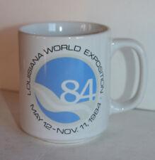 Louisiana Worlds Fair Ceramic Coffee Cup Mug Expo 1984