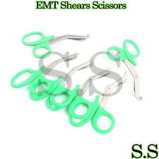 6 Pc Emt Shears Scissors Bandage Paramedic Ems Supplies 725 Green