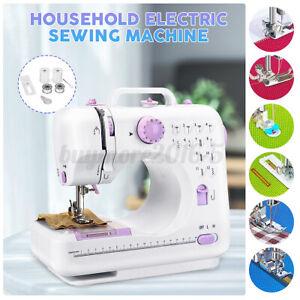 12 Stitches Electric Sewing Machine Thread Craft Kit Handheld Desktop Portable