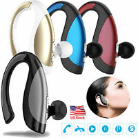 Wireless Bluetooth Headset Stereo Earbuds for Samsung iPhone 8 7 6 6S 5S LG HTC