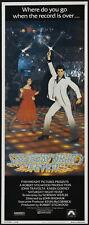 SATURDAY NIGHT FEVER original ROLLED 1977 14x36 movie poster JOHN TRAVOLTA