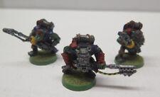 GW WARHAMMER 40K 3  Metal Ork Burna Boyz Skorcha Boyz Pro Painted
