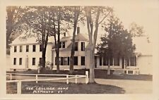 PLYMOUTH VERMONT~THE CALVIN COOLIDGE HOME~REAL PHOTO POSTCARD 1920s