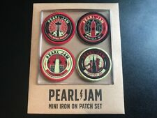 PEARL JAM Home, Away Shows PATCHES Seattle, Missoula, Chicago, Boston not poster