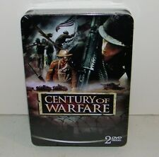 Century Of Warfare 2 DVD Collectors Tin SET WWI, WWII, Korean & More New Sealed