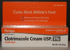 Clotrimazole Cream 1% (Compare to Lotrimin) 1oz (30gm) Tube -Exp 02-2020-