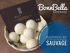 10 X INDIVIDUAL HIGHLY SCENTED WAX MELTS - Inspired by Sauvage - Handmade