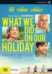 What We Did On Our Holiday (DVD, 2015), NEW SEALED AUSTRALIAN REGION 4