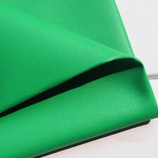 Solid Lichee Faux Leather Material PVC Vinyl Upholstery Crafts Fabric Sew Zaione