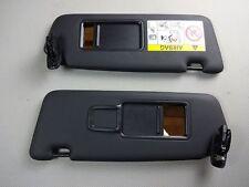 original Audi A3 8V Set Sonnenblende schwarz links rechts 8V0857552 8V0857551