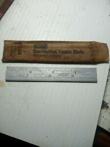 """Lufkin Rule Co. 2516R Combination Square 4"""" Replacement Blade NOS"""