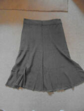 Linen Patternless BHS Flippy, Full Skirts for Women