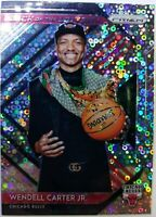 2018 Panini Prizm Fast Break Luck of the Lottery Wendell Carter Jr Rookie RC #7