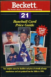 Baseball Card Price Guide Number 21 by Dr. James Beckett, Rich Klein