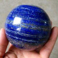 40mm Natural Blue Lapis Lazuli Crystal Ball Healing Quartz Gemstone Sphere+Stand
