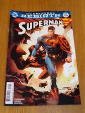 SUPERMAN #29 DC UNIVERSE REBIRTH VARIANT NM (9.4)