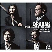 Brahms: Complete String Quartets & Piano Quintet, Belcea Quartet, Till Felner CD