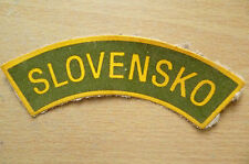 Patches- POLICE PATCH SLOVENSKO (apx. 11x3 cm)