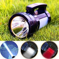 Odear Handheld Spotlight Super Bright Flashlight Rechargeable LED Searchlight