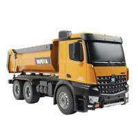 Huina 1:14 2.4G RC Truck 10-CH Remote Dump Truck Remote Control Toy Kids Gift