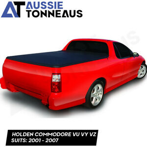 Clip On Tonneau Cover for Holden Commodore Ute VU VY VZ  (2001 - 2007)