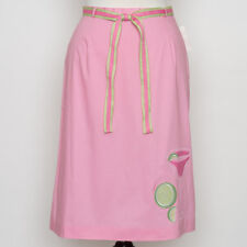 NWT Harold's Pink Cotton Spandex Margarita Skirt Size 4