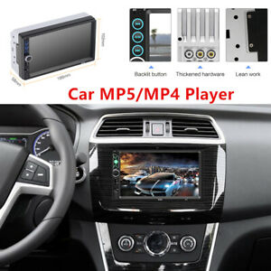 7 Inch 2DIN Car FM Radio Stereo Player MP5 Bluetooth USB AUX Android Devices Set