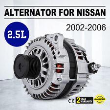 ALTERNATOR 13939 FOR NISSAN ALTIMA SENTRA 2.5 2.5L 02 - 06