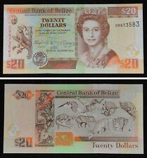 BELIZE Banknote 20 Dollars 2014 UNC