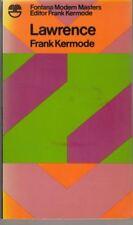 Lawrence (Modern Masters S.) : Frank Kermode