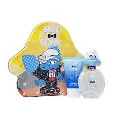The Smurfs Vanity 3D Eau de Toilette 50ml & Shower Gel 75ml Gift Set Childrens