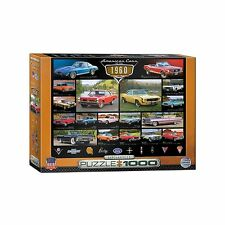 Classic American Cars of the 1960's Jigsaw Puzzle - 1000 pc.